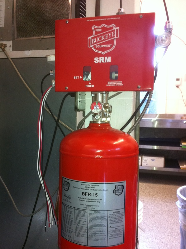 paint booth ampkitchen ansul fire suppression system service
